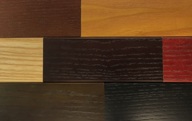 Wood Stain Finish Palette