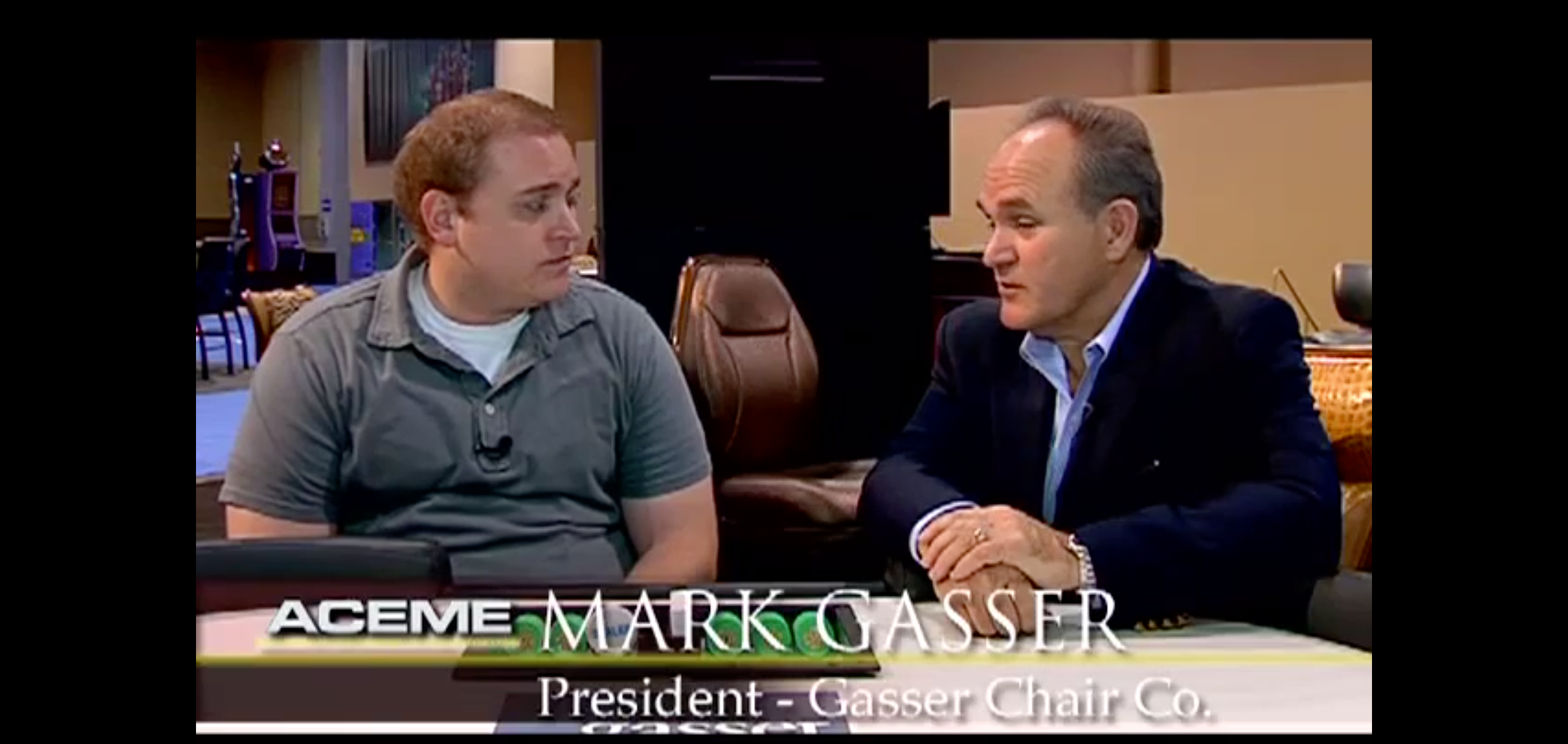 Gasser Chair Company at G2E 2012