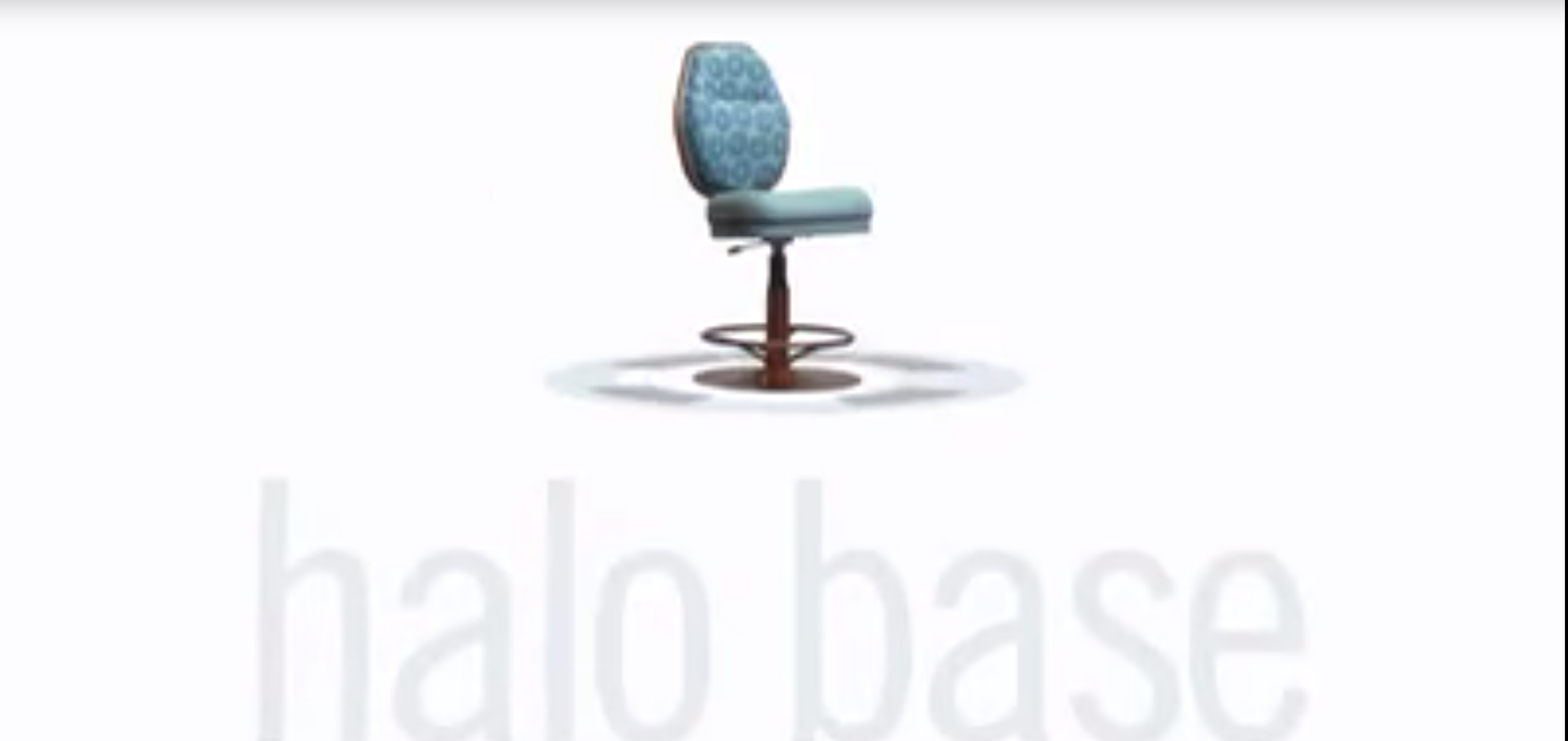 Gasser Chair Introduces the Halo Disc Base